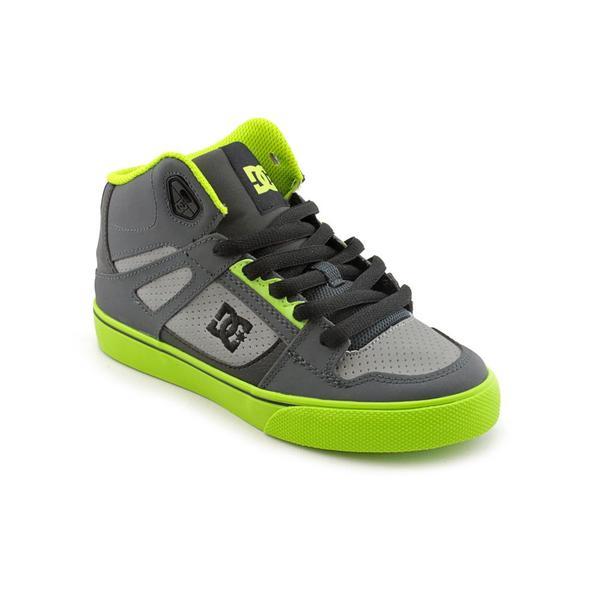 DC Boy (Youth)'s 'Spartan HI' Leather Athletic Shoe