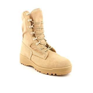 Wellco Men's 'Hw Marine' Regular Suede Boots (Size 15.5)