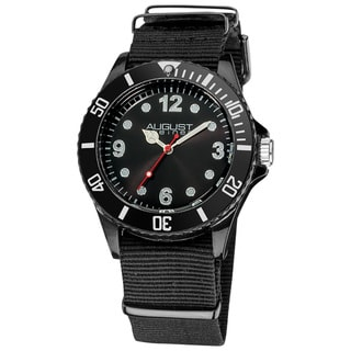 Black August Steiner Juniors Quartz Nylon Strap Sport Watch