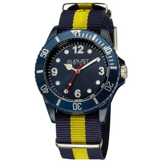 August Steiner Juniors Quartz Nylon Strap Sport Watch