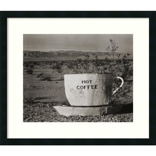 Edward Weston 'Hot Coffee, Mojave Desert, 1937' Framed Art Print