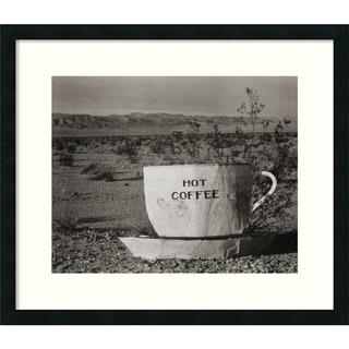 Edward Weston 'Hot Coffee, Mojave Desert, 1937' Framed Art Print