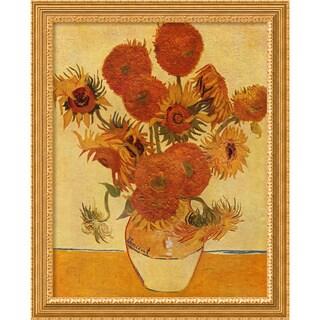 Vincent van Gogh 'Sunflowers, 1888' 27 x 33-inch Framed Art Print