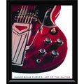 Carl Tremblay 'Dangerous Curves: Art of the Guitar' Framed Art Print