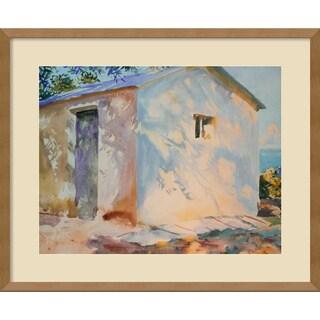 John Singer Sargent 'Corfu: Lights and Shadows' Framed Art Print