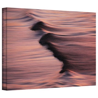 David Liam Kyle 'Waves After Sunset' Gallery-Wrapped Canvas
