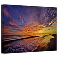 David Liam Kyle 'The Sunset' Gallery-Wrapped Canvas