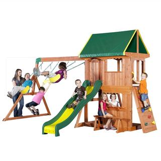 Backyard Discovery All Cedar Swing Set + $54.50 Sears Credit