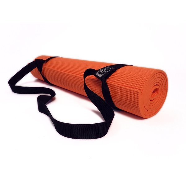 Bean Yoga Mat Sling Harness, Extra Long. Simple Looped Carry Strap (Sling Only) Recycled Polyester or Cotton Webbing 10964171
