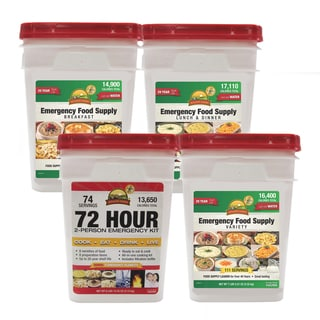 Emergency Food Supply Deluxe Pail Kit