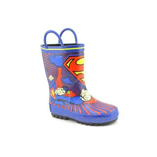 Superman Boy (Toddler)'s 'Superman Rainboot' Man-Made Boots