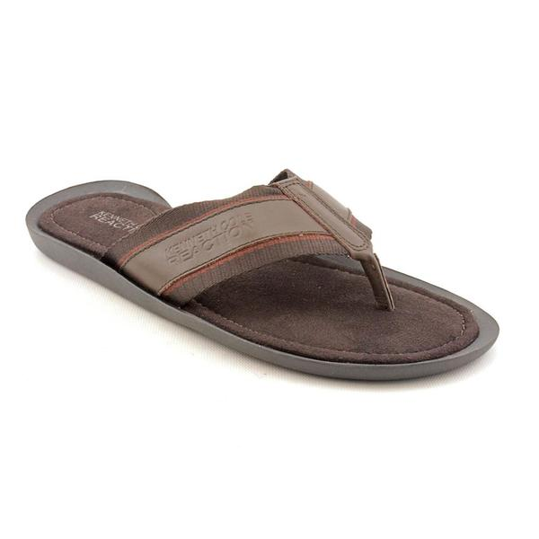 Kenneth Cole Reaction Men's 'Out-Shine' Leather Sandals