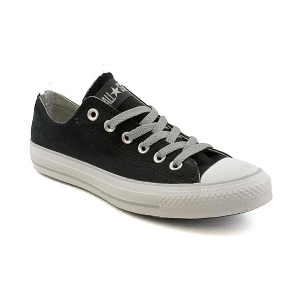Converse Women's 'CT ox Black' Canvas Casual Shoes (Size 7)