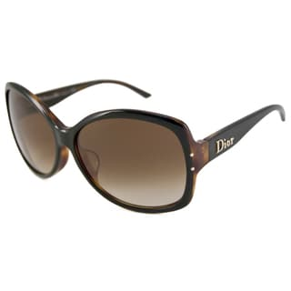 Christian Dior Women's F Rectangular Sunglasses