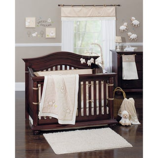 Crown Crafts Little Lamb 9-piece Crib Bedding Set