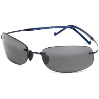 Maui Jim Unisex 'Honolua Bay' 516 03 Titanium Polarized Sunglasses