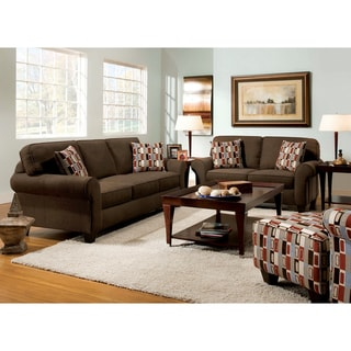 Adameri 2-piece Transitional Sofa/ Loveseat Set