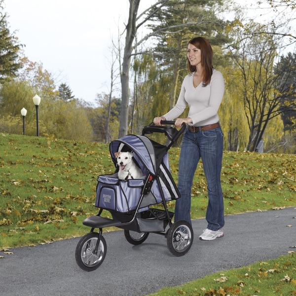 Guardian Gear Sprinter EXT II Steel Blue Pet Stroller