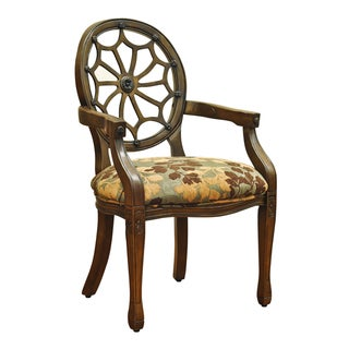 Spider Back Accent Chair