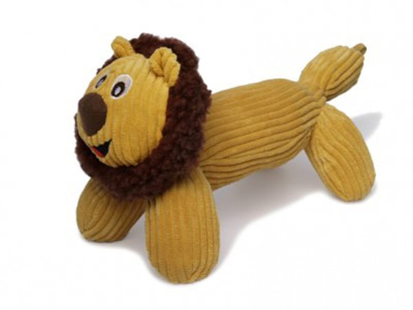 Charming Pet Products Plush Corduroy Lenny the Lion
