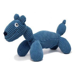 Charming Pet Products Plush Corduroy Balloon Dudley Dog Toys