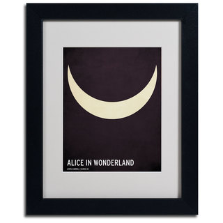Christian Jackson 'Alice in Wonderland' Framed Matted Art