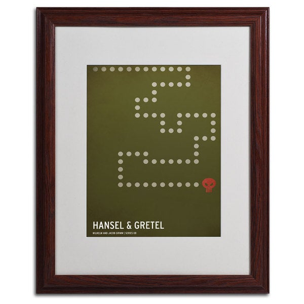 Christian Jackson 'Hansel and Gretel' Framed Matted Art