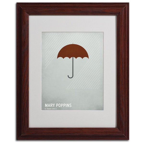 Christian Jackson 'Mary Poppins' Framed Matted Giclee Art