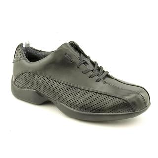 Aetrex Men's 'Perf Lace Up' Leather Dress Shoes - Extra Wide