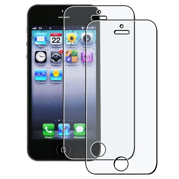 INSTEN 3-piece Anti-glare Protector for Apple iPhone 5