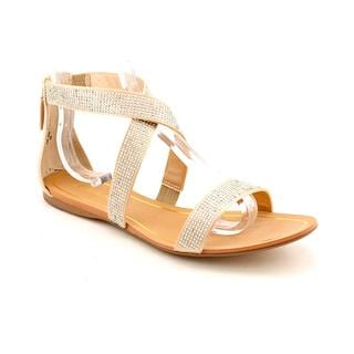 Enzo Angiolini Ivory Women's 'Persuit' Basic Textile Sandals