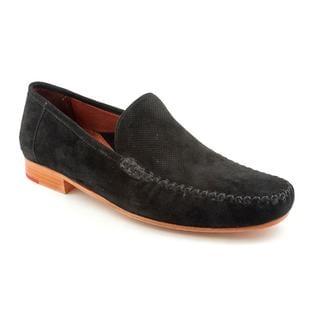 Robert Zur Men's 'Quanto Venetian' Regular Suede Dress Shoes (Size 9.5)