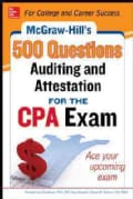 McGraw-Hill's 500 Auditing and Attestation Questions for the CPA Exam (Paperback)