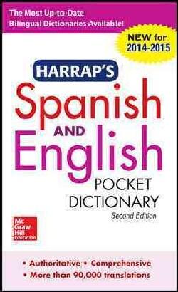 Harrap's Spanish and English Pocket Dictionary: 2014-2015 (Paperback)