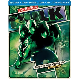 The Hulk - Limited Edition Steelbook (Blu-ray/DVD)