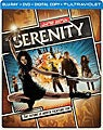Serenity - Limited Edition Steelbook (Blu-ray/DVD)