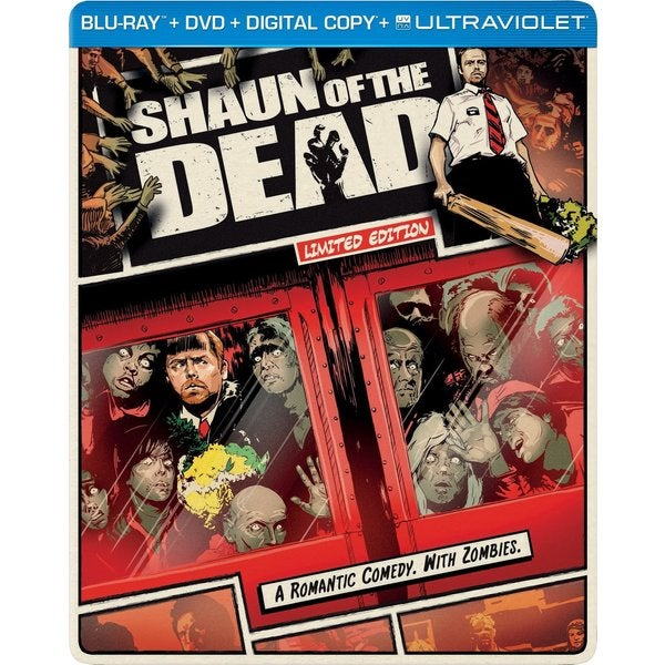 Shaun of the Dead - Limited Edition Steelbook (Blu-ray/DVD) 10968872
