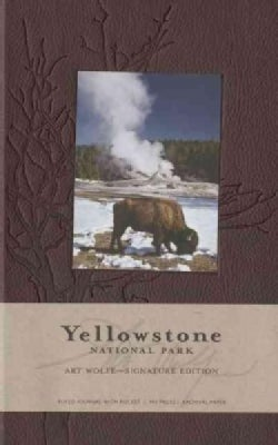 Yellowstone National Park Hardcover Ruled Journal (Large): Art Wolfe Signature Edition (Notebook / blank book)