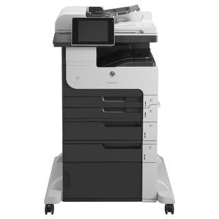 HP LaserJet M725F Laser Multifunction Printer - Monochrome - Plain Pa