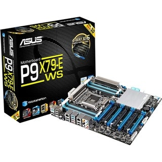 Asus P9X79-E WS Workstation Motherboard - Intel X79 Express Chipset -