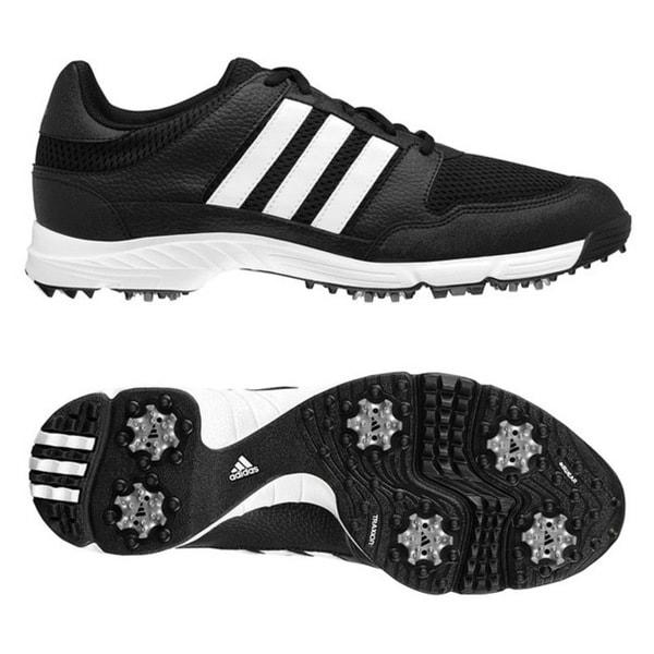 Adidas Tech Response 4.0 Black/ White Golf Shoes