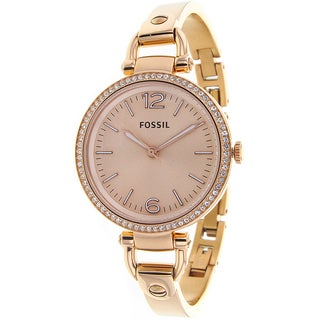 Fossil Women's Georgia Stainless-Steel Watch