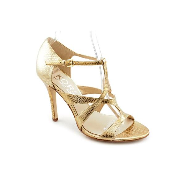 KORS Michael Kors Women's 'Sasha' Animal Print Dress Shoes