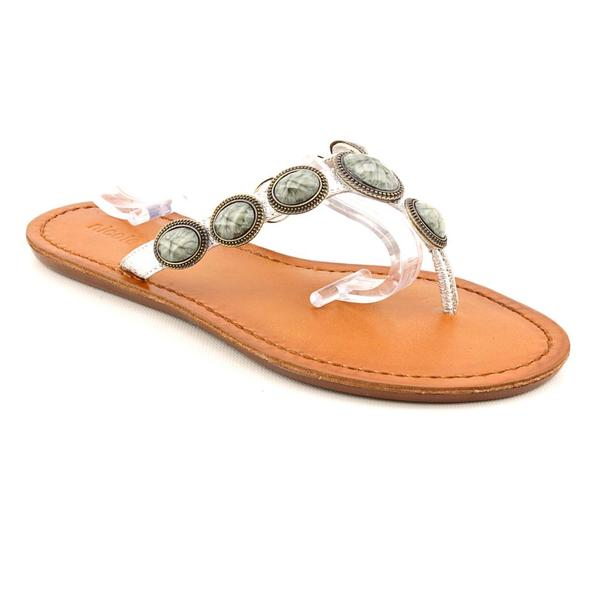 Nicole Women's 'Drawn' Leather Sandals