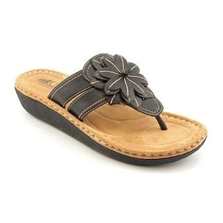 White Mountain Women's 'Cove' Synthetic Sandals (Size 8.5)