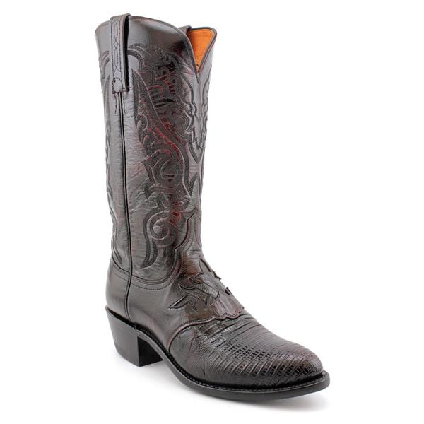 1883 By Lucchese Men's 'N1007.J4 ' Animal Print Boots - Wide (Size 6.5)