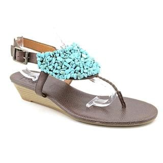 Lucky Brand Women's 'Nama' Leather Sandals (Size 10)