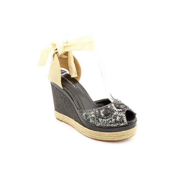 BCBGeneration Women's 'Folas' Canvas Dress Shoes (Size 9.5)