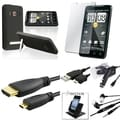 Case/ Screen Protector/ Holder/ HDMI Cable/ Headset for HTC EVO 4G