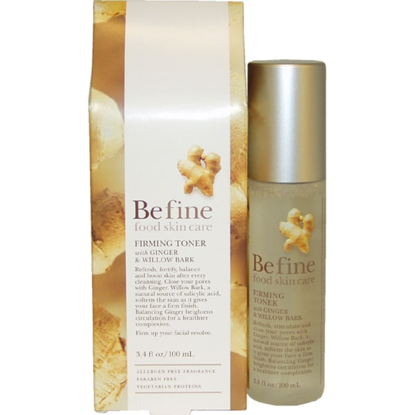 Befine Food Skin Care 3.4-ounce Firming Toner